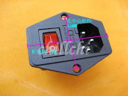 three in one 220v power socket kcd boatlike switch with lamp fuse rh aliexpress com Electrical Fuse Box Fuse Electrical Circuit