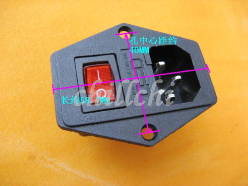 three in one 220v power socket kcd boatlike switch with lamp fuse rh aliexpress com 220v fuse box diagram