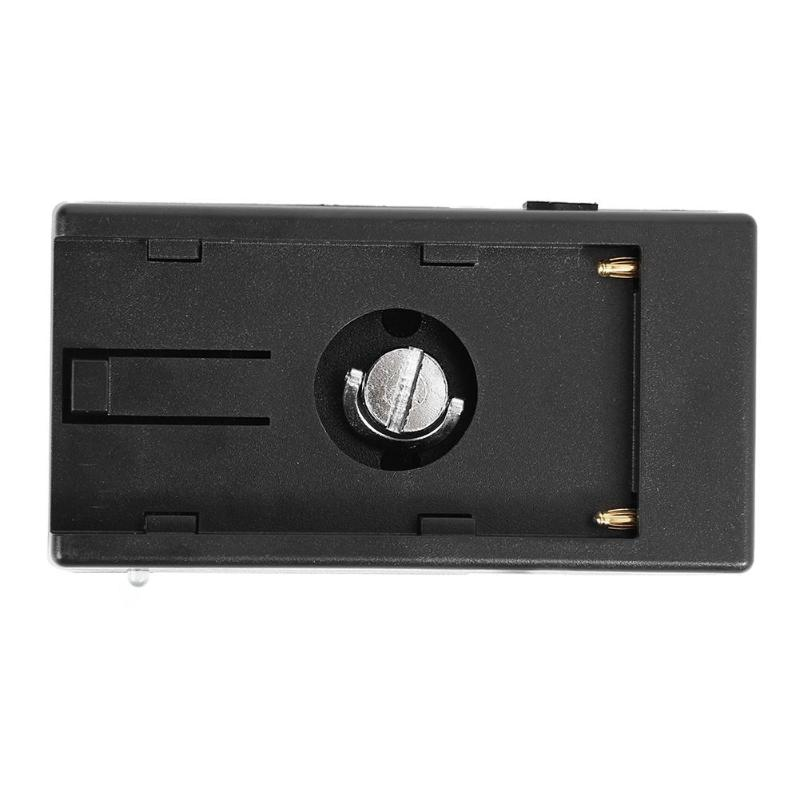 lowest price ALLOYSEED Camera Battery Adapter Buckle Plate With 7 4V DC 5 5 2 1mm Plug For Sony NP-F Series NP-F970 F960 F770 F750 F570