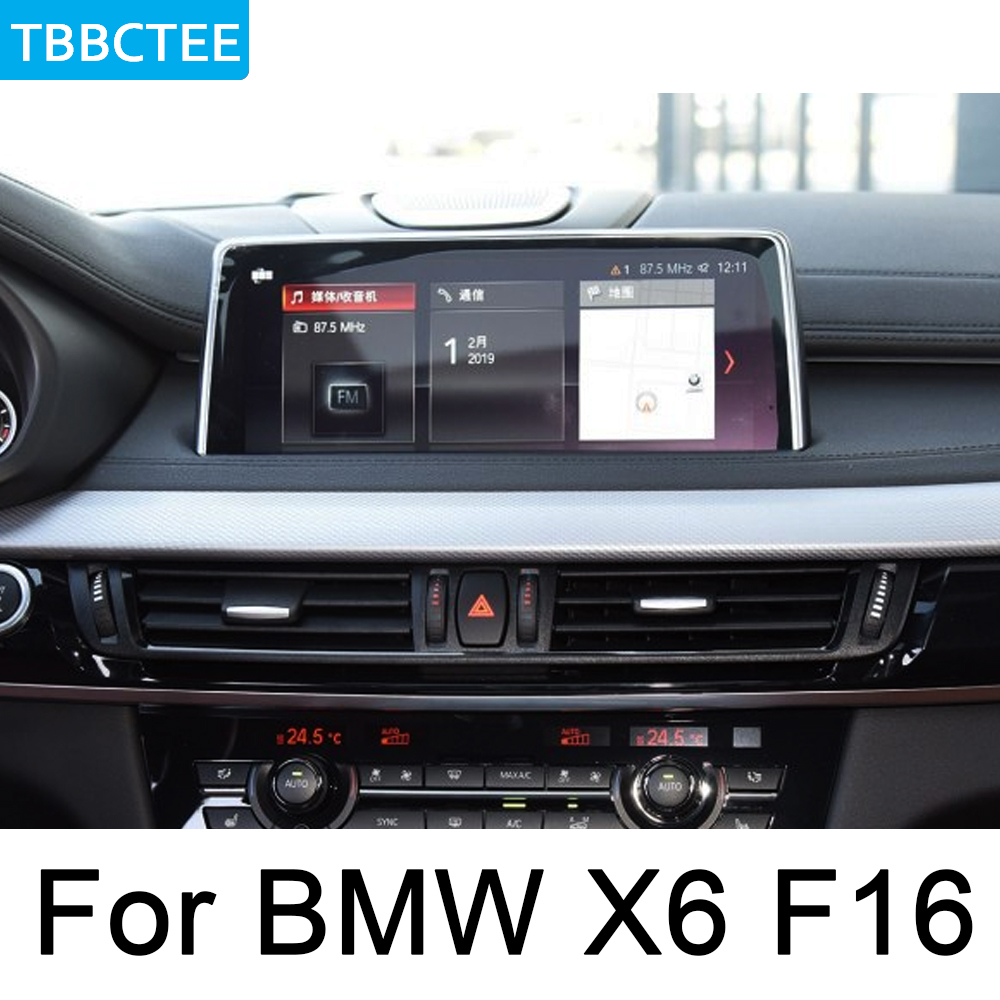 For BMW X6 E71 2011 2013 CIC Car multimedia Player Auto Radio GPS Android Navigation AUX Stereo touch screen original style in Car Multimedia Player from Automobiles Motorcycles