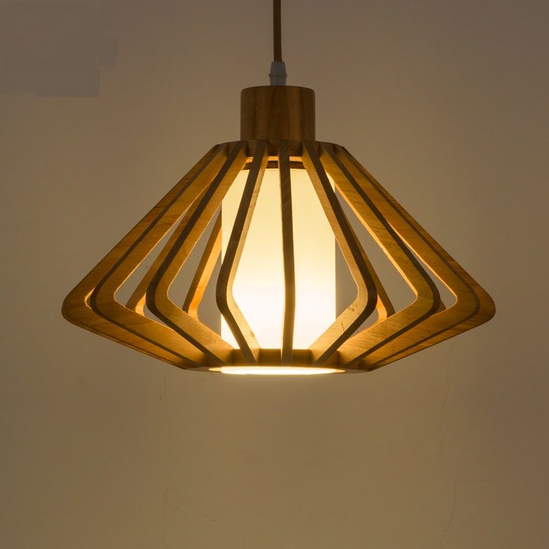 Japanese wooden Pendant Lights tatami lamp creative personality petal lamp simple pastoral led restaurant living room ZA chinese style classical wooden sheepskin pendant light living room lights bedroom lamp restaurant lamp restaurant lights