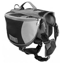 Dog BackPack Harness Quick Release Carriers Dog Pack Hound Travel Camping Hiking Saddle Bag Rucksack for Medium & Large Dog