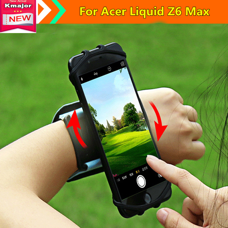 Running Bags Men Women Cycling Running Sports Arm Band Case For Acer Liquid Z6 Max 5