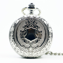 Mechanical Hand Wind Pocket Watch Steampunk Roman Numbers Steel Fob Watches PJX1289