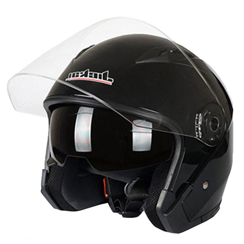 Moto rcycle Helm Männlichen Weibliche Vier Jahreszeiten capacete para moto cicleta cascos para moto Doppel Objektiv RACING HALB HELME