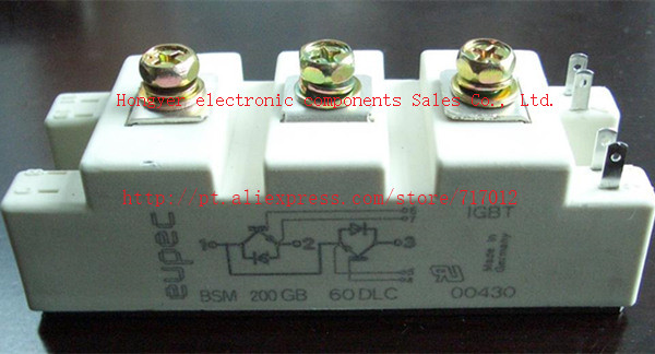 ФОТО Free Shipping BSM200GB60DLC No New(Old components,Good quality) IGBT Module:200A-600V,Can directly buy or contact the seller