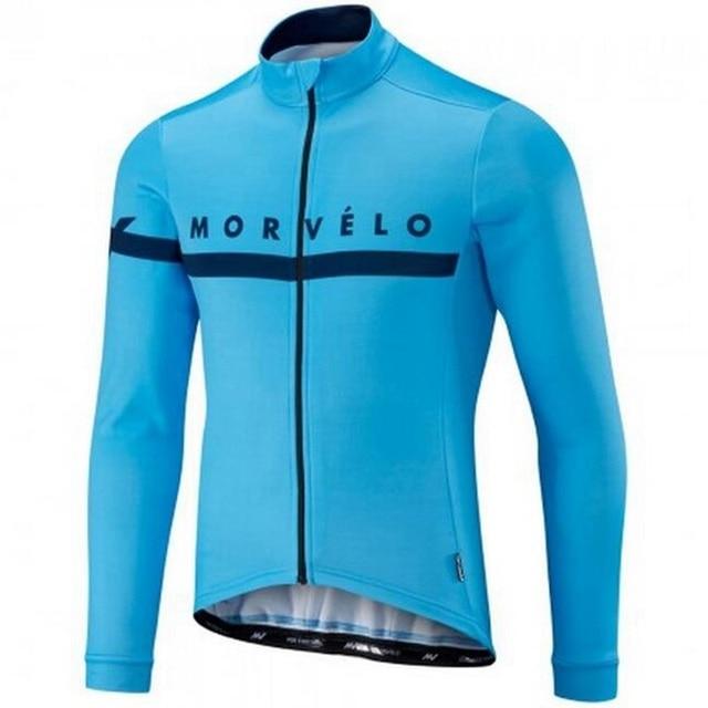 Morvelo cycling jersey men mtb bike bicicleta Pro Team sportswear Ropa camisa maillot Ciclismo long sleeve jersey clothing 2018