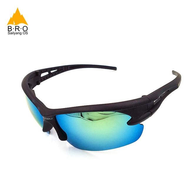 2018 bro quente ciclismo óculos à prova de explosão das mulheres dos homens esportes ao ar livre óculos de bicicleta óculos de sol 6