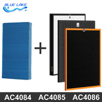 Value Package For Philips Air Purifier Ac4084 85 86 Formaldehyde Filter Activated Carbon Filters Hepa Humidification