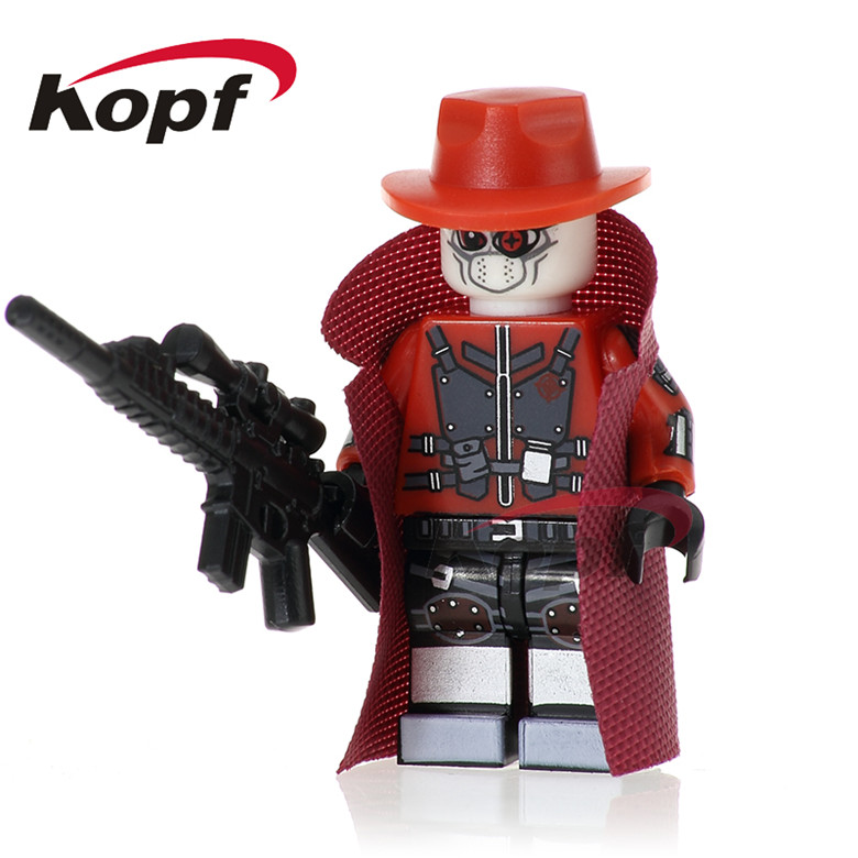 20Pcs Deadshot Super Heroes Spiderman Homecoming Winter Soldier Iker Casillas Bricks Building Blocks Toys for children PG265