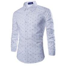 ZOGAA 2019, camisas formales informales ajustadas para hombre, camisas de algodón de manga larga, ropa de oficina informal de negocios en varios colores, versión coreana
