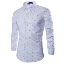 ZOGAA 2019 פורמליות מקרית slim fit mens חולצות Longsleeved כותנה חולצות רב צבע עסקים מקרית קוריאני גרסת משרד ללבוש