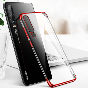 Case For Huawei P30 P20 Pro P10 P8 P9 Lite Plus Mate 20 10 Honor 8 9 10 P Smart Y9 Y7 Prime Clear Soft Shine Plating phone Cover(China)