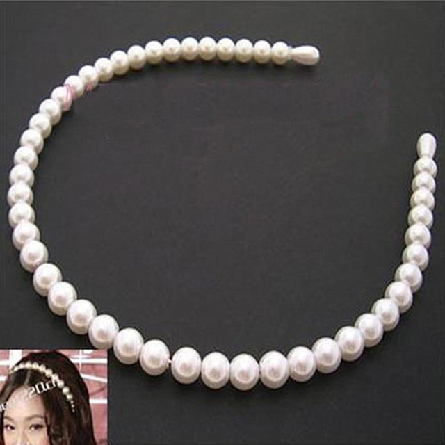 TS031 Fashion imitation pearl Barrette hair bands accessories head jewelry wholesale