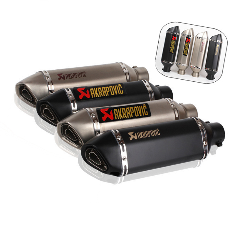 Motorcycle Muffler Aerox Escape Dirt-Bike Trk502 Triumph Msx125 Tmax Universal Exhaust