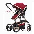 YIBAOLAI dobrar carrinho de bebê baby jogger carrinho de bebê de luxo com à prova de choque