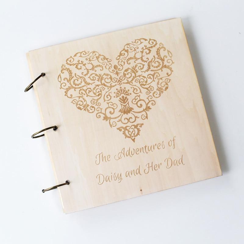 Custom Wedding Guest Book New Design Personalized Bride: Love Heart Wedding Guest Book Wedding Guestbook Custom