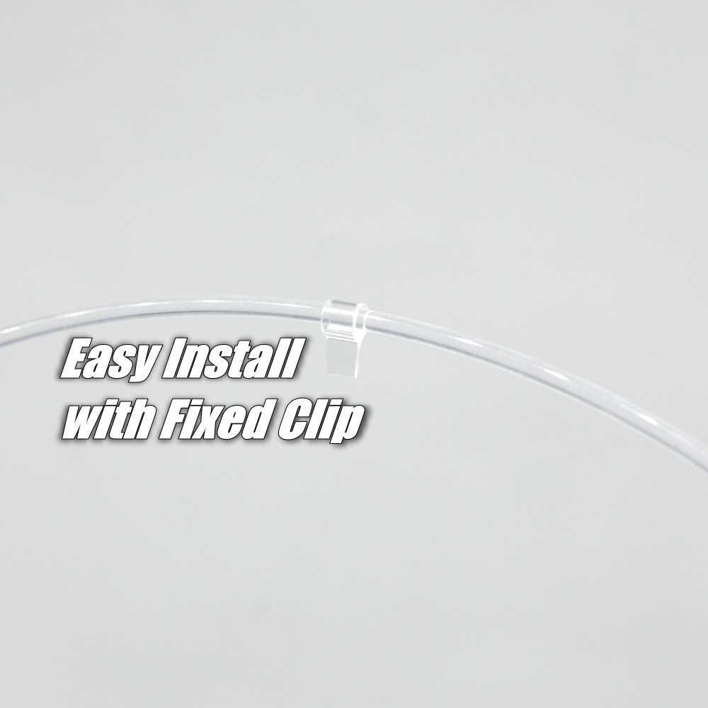 NOVOVISU wewnętrzne oświetlenie otoczenia samochodu 1 metr długości uniwersalny pasuje pasek do dekoracji drzwi samochodu Dashboard Dashboard światłowód światło