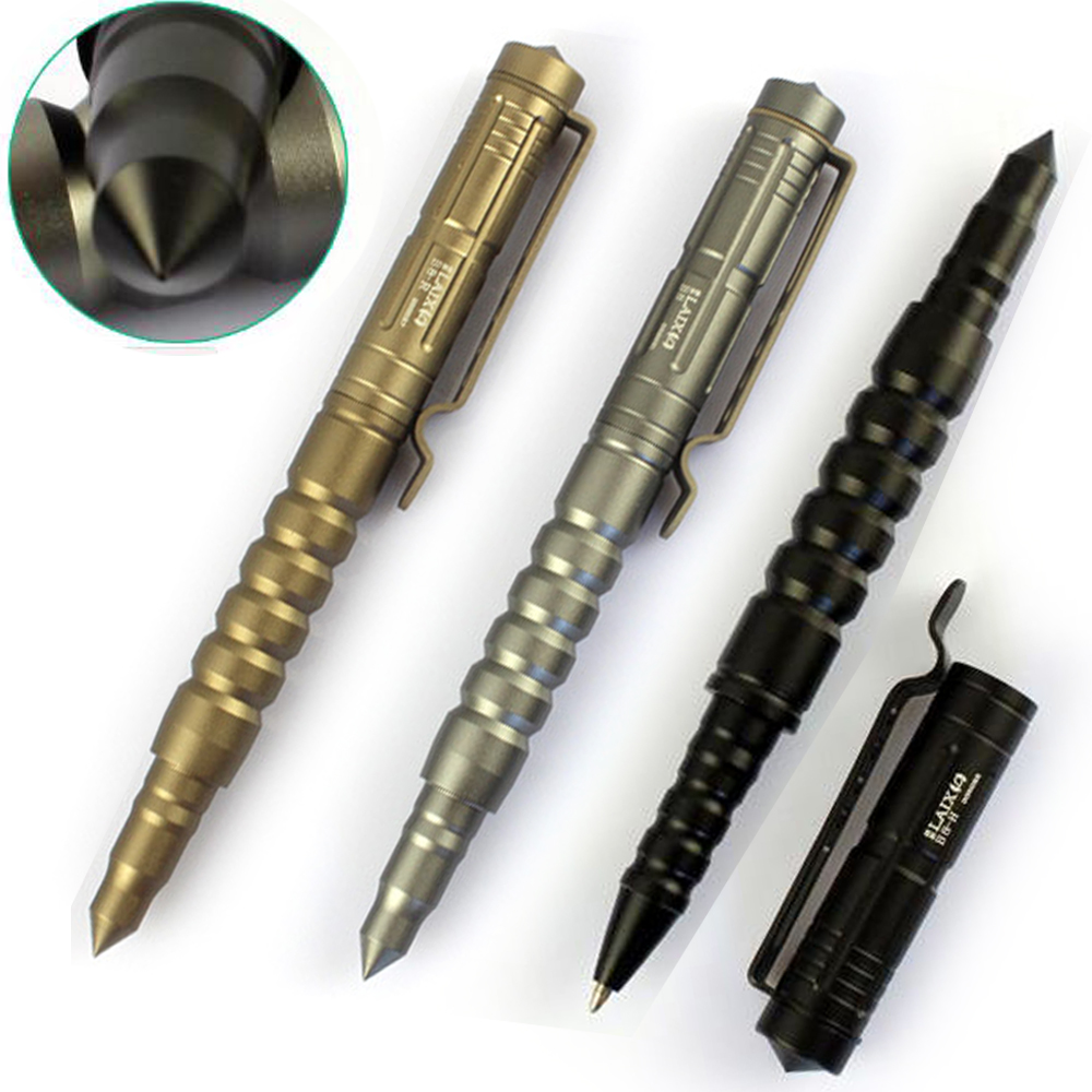 Outdoor Security Protection Tactical Pen Self Defense Personal Survival EDC Tool Autodefensa Broken Window Tungsten Steel