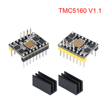 BIGTREETECH TMC5160 V1.1 SPI шаговый двигатель драйвер Stepstick Mute Driver VS TMC2208 TMC2130 SKR V1.3 MKS GEN L Запчасти для 3D-принтера