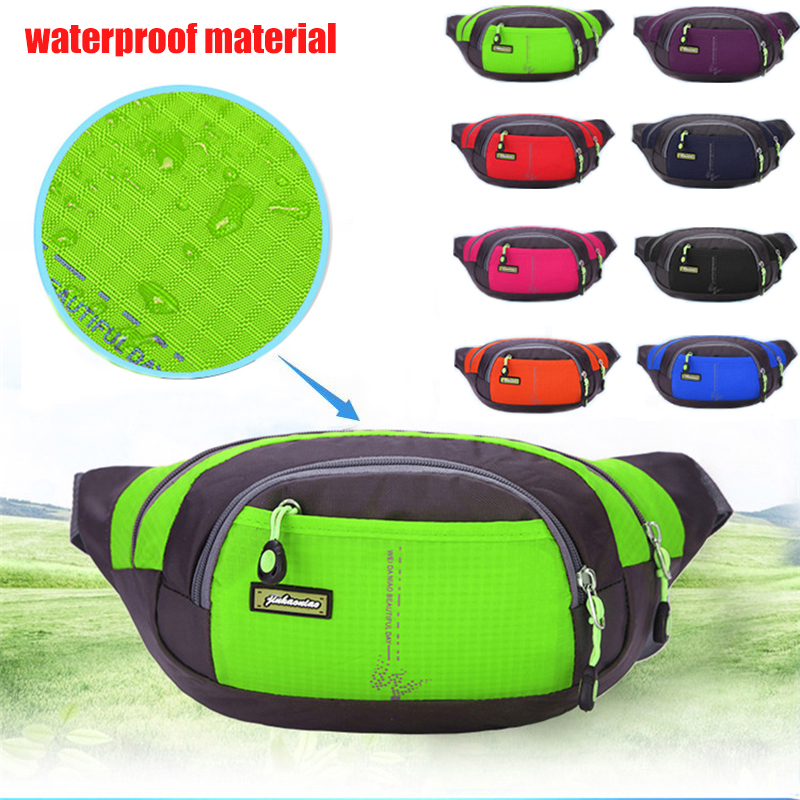 ababa7bcf34e US $6.76 24% OFF|Quality Men Waist Pack Women Outdoor Running Bags Hip  Money Belt Mountaineering Hiking Packs Mobile Phone Bag Coin mp3 Pouch-in  ...
