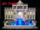 JOY MAGS Only Led Light Building Blocks Light Up Kit For Architecture Trevi Fountain 21020 Compatible With Lego Excluding Model