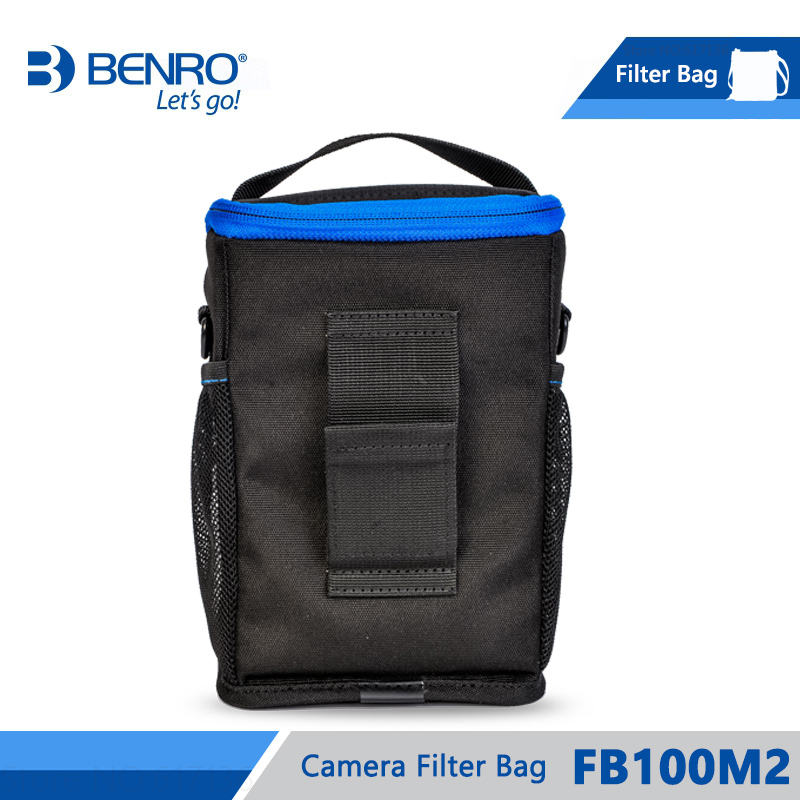 Image 2 - Benro FB100M2 Filter Bag Storage Filters holder For 4pcs Square  Filters 3pcs Round Filters Nylon Bag Frss Shippingbenro bagbag  forholder for