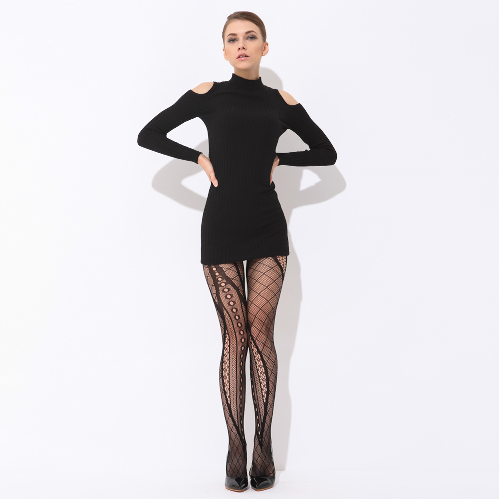 Hot Sale 2016 Sexy Womens Tights Stockings Lace Stocking Pantyhose Fashion Female Transparent Tight Pantyhose Panties
