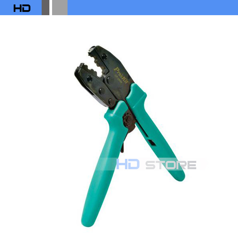 ФОТО Proskit CP-301N High level Terminal Block Ratchet Crimping pliers Crimping Tool free shipping
