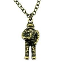 Vintage Astronaut Necklace