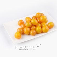 Marseed Space-saving 100 Yellow Cherry Tomatoes Vegetable Seeds Backyard Garden