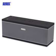August WS150 Multiroom Wireless WiFi Speaker with Stereo Streaming Music Sound System Airplay Portable Bluetooth Loudspeakers(China)
