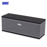 August WS150 Multiroom Wireless WiFi Speaker with Stereo Streaming Music Sound System Airplay Portable Bluetooth Loudspeakers