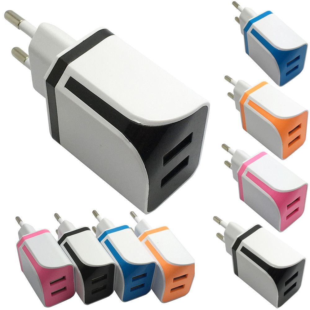 CARPRIE New Develop Dual USB Ports Home Wall Travel AC Power Charger Adapter For Samsung EU ORusb charger Drop Shipping