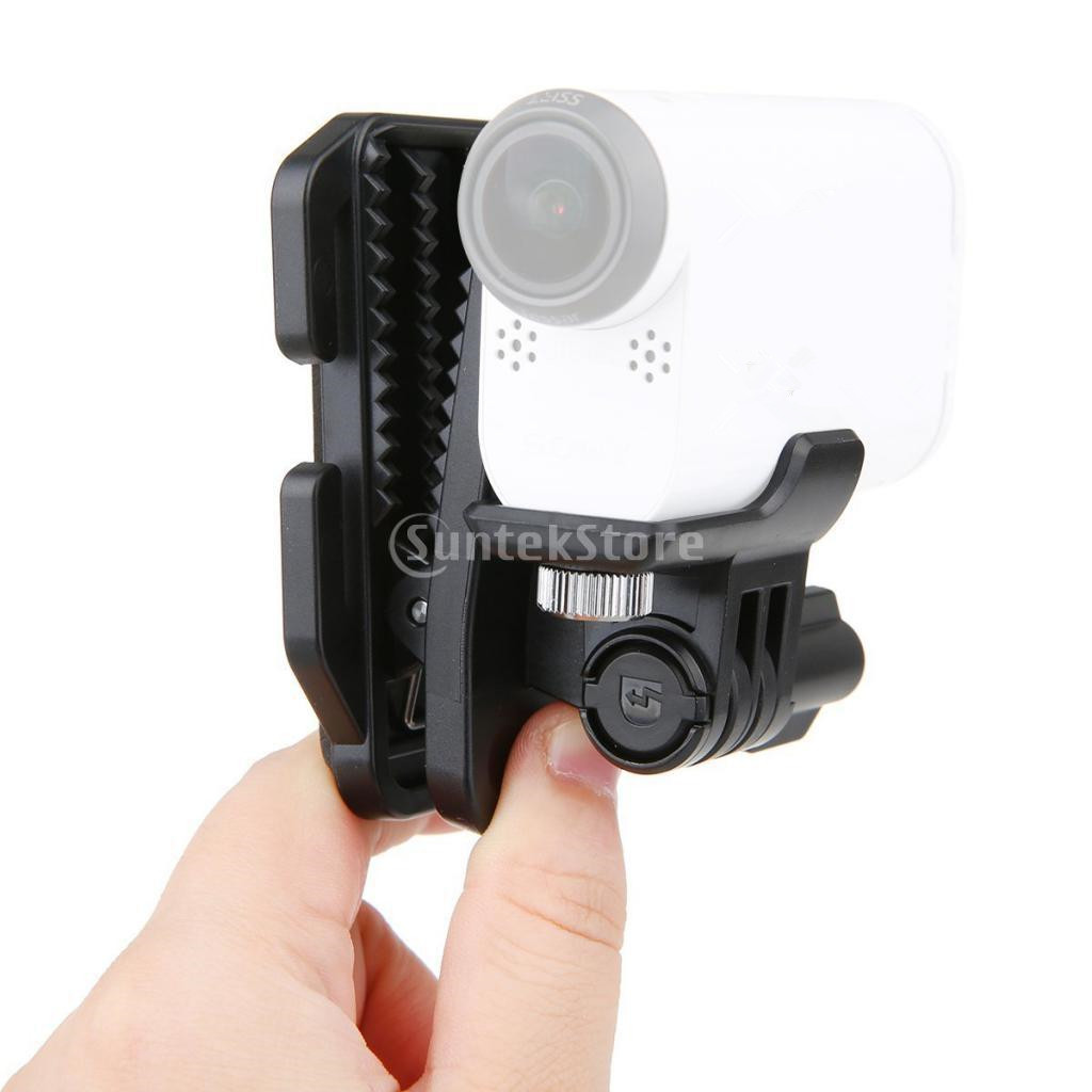 Clip Clamp Head Cap Hat Backpack Clip Clamp Mount Adapter for <font><b>Sony</b></font> Sport Camera HDR AS20 <font><b>AS30V</b></font> AS100V AS200V Camera <font><b>Accessories</b></font> image
