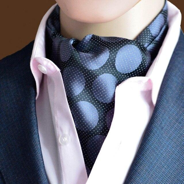 Neck Tie Men's Classic Popular Floral Men's Formal Neck Tie Dot Pattern Wedding Suits Silk Tie Neckwear