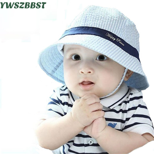 74d15494762 Summer baby Hat Infant Cotton Sun Hat for boys children bucket Cap kids caps  for girls autumn Beach sun caps