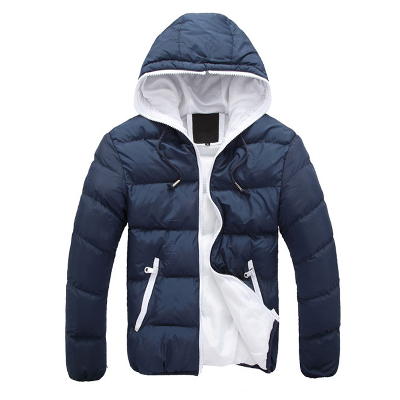 Fashion 3XL Plus Size Men Winter Jacket Men Hooded Outwear Coat Thick Padded Parka hombre invierno Zipper Slim Warm Men Clothing new fashion 2016 pointed toe lace up comfortable flat shoes women fashion cool girl breathable british style casual shoes dt205