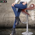 jeans woman high waist denim jeans pant for women female ladies trousers 2016 push up jeans femme spring stretch
