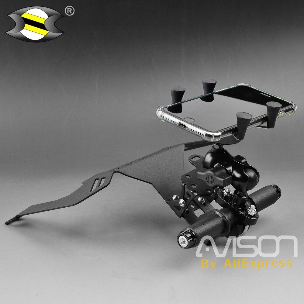 Pour Honda Forza 300 250 125 MF13 support pour téléphone Forza300 support pour téléphone intelligent support pour téléphone support de plaque de navigateur GPS