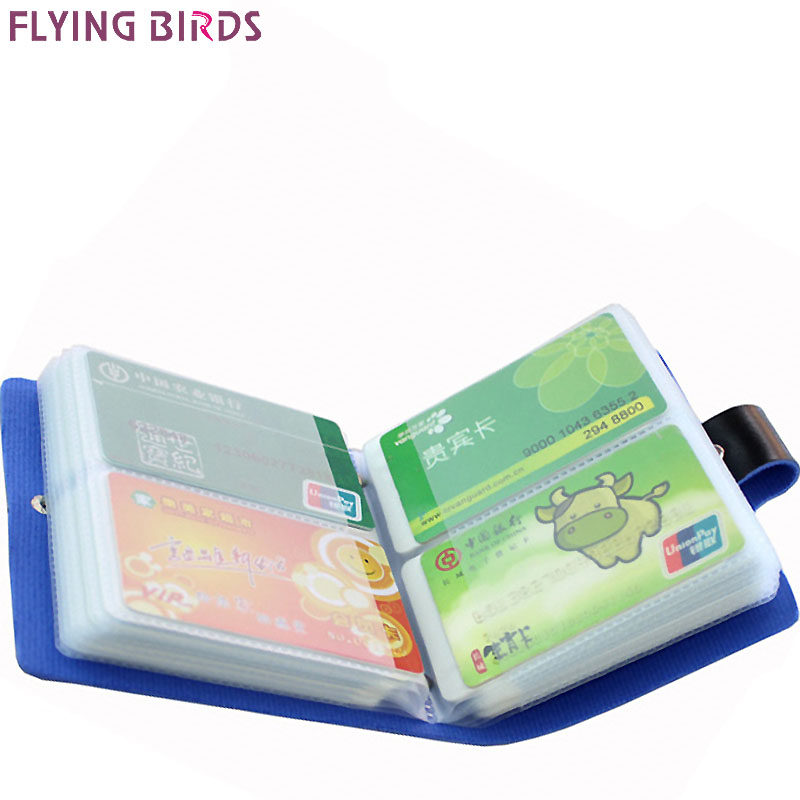 FLYING BIRDS Card Holder brands High Quality