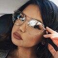 Cateye Oro Claro Lente Gafas de Miopía Gafas de Marco Claros Mujeres Hombres Gafas de Montura de Lente Transparente Óptico Transparente