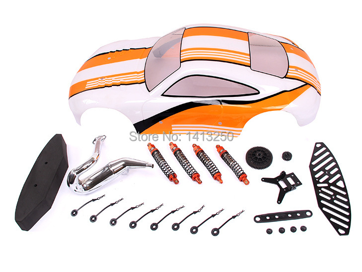 ФОТО baja5fc 911 flat run conversion kit  ts-h85225 for baja parts ,yellow available  with free shipping .