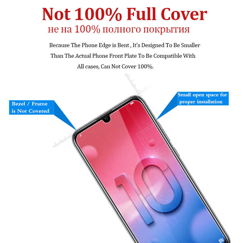 Tempered Glass For Huawei Honor 10 Lite Display Protective 10lite Screen Protector Light Honor10 Armor Lite10 i Honr Life Safety