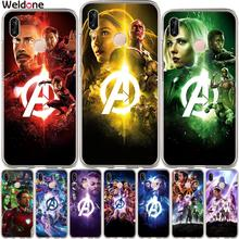 Cool Marvel Avengers Phone Case For Huawei P30 P20 Lite Pro P10 Plus P8 P9 2017 P Smart Wanda iron Man case Cover Etui