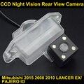 Автомобильная камера заднего вида для Mitsubishi 2015 2008 2010 LANCER EX/PAJERO IO CCD Ночного Видения Резервное Копирование Обратный Парковка камера