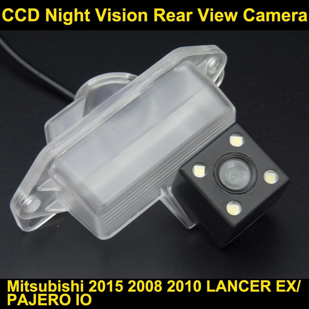 imágenes para Cámara de visión trasera para Mitsubishi 2015 2008 2010 LANCER EX/PAJERO IO CCD de Visión Nocturna de Copia de seguridad para Estacionarse en Reversa cámara