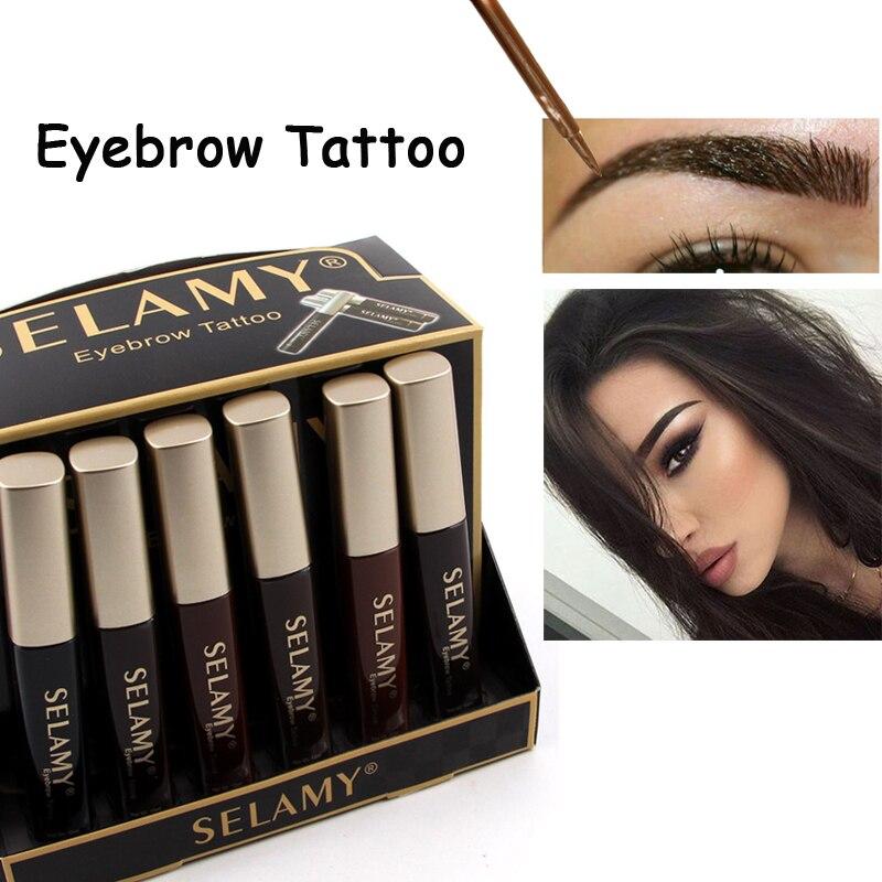 New hot brand eyebrow enhancers make up eye brow tint for Tattooed eyeliner brand