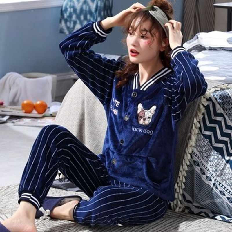 Большие размеры L-6XL 7XL 8XL зимние женские толстые фланелевые комплекты для сна женские Лоскутные коралловые флисовые мужские большие пижамы теплые комплекты