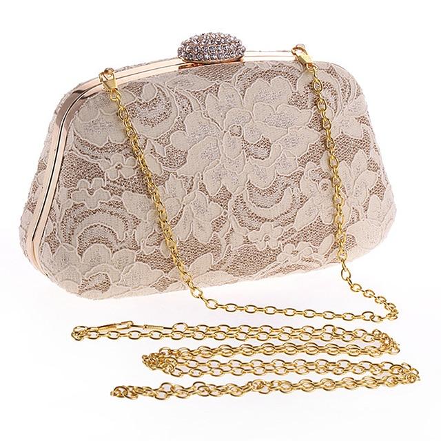 Women clutch evening bags fashion women handbags dinner bag new designer lace fashion purses for lady